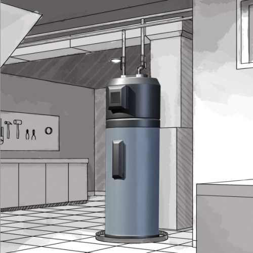 Water Heater Business Layout Planning